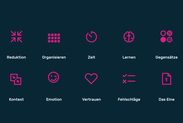 Infografik Userinterfacedesign Gesetze der Einfachheit 01