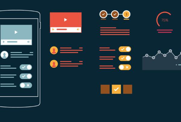 Infografik userinterfacedesign Design aufräumen