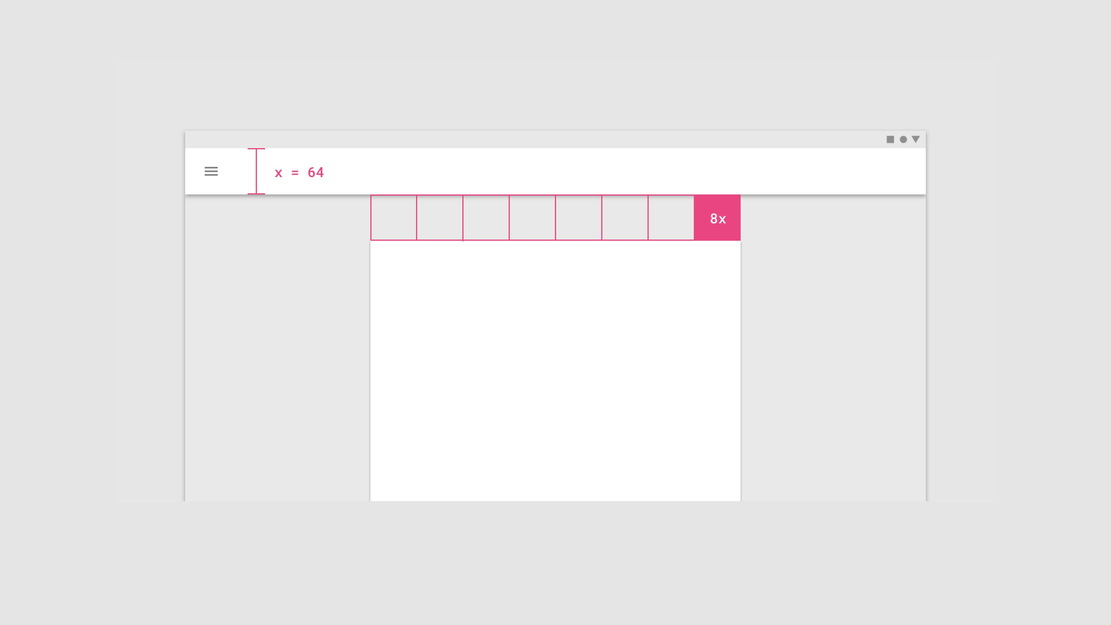 Infografik userinterfacedesign Designsystem 01 Abstände